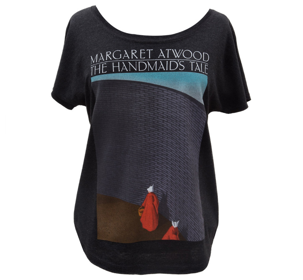 【Out of Print】 Margaret Atwood / The Handmaid's Tale Dolman Tee (Black) (Womens)