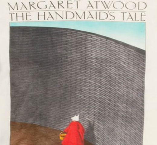 [Out of Print] Margaret Atwood / The Handmaid's Tale Tee (Natural) (Womens)