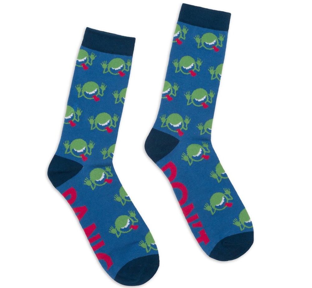 [Out of Print] Douglas Adams / The Hitchhiker's Guide to the Galaxy Socks