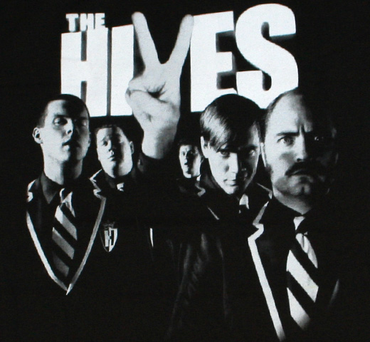 The Hives / The Black and White Album Tee