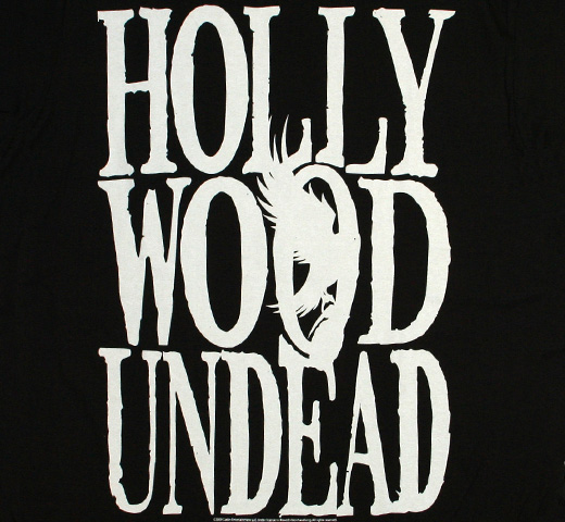 Hollywood Undead / Block Logo Tee