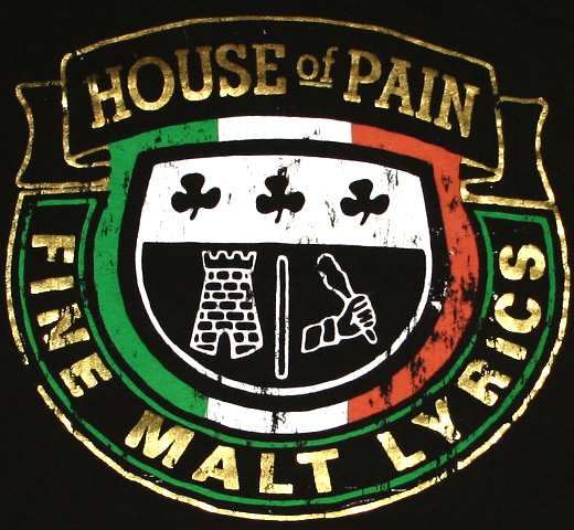 House Of Pain / Crest Tee 2 (Gold)