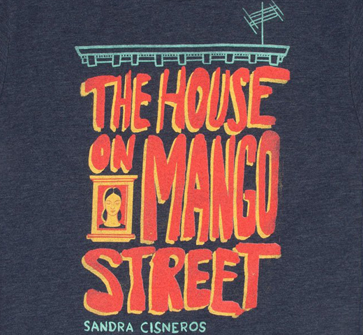 [Out of Print] Sandra Cisneros / The House on Mango Street Tee (Navy Blue)