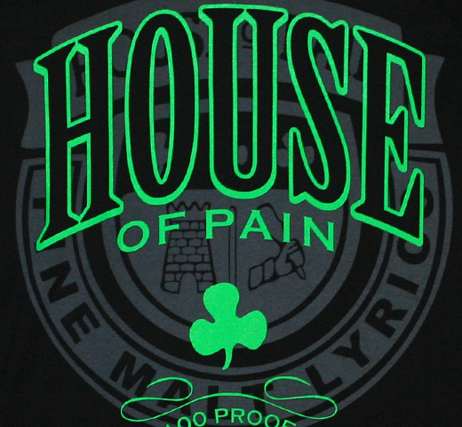 House Of Pain / He Who Breaks The Law Tour Tee (Black)