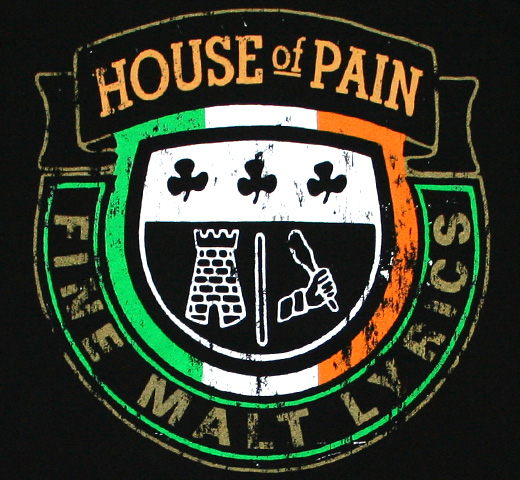 House Of Pain / Crest Tee 3 (Black)