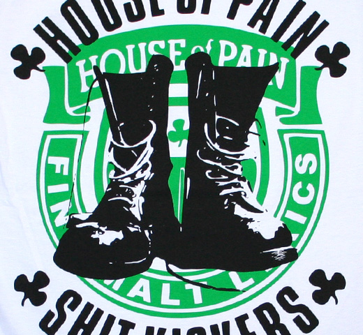 House Of Pain / Shitkickers Tee (White)