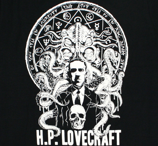 H. P. Lovecraft / Cthulhu Tee (Black)