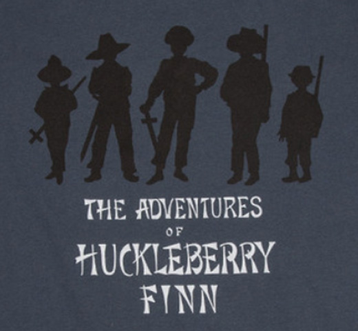 [Out of Print] Mark Twain / Adventures of Huckleberry Finn Tee (Indigo)