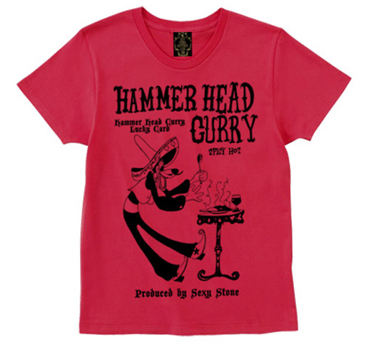 Hammer Head Curry Tee (Red)