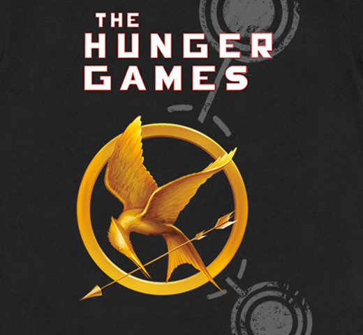 [Out of Print] Suzanne Collins / The Hunger Games Tee (Black)