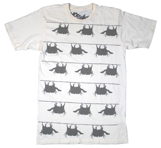 【Worn Free】 Iggy Pop / Camels Tee (Natural White)
