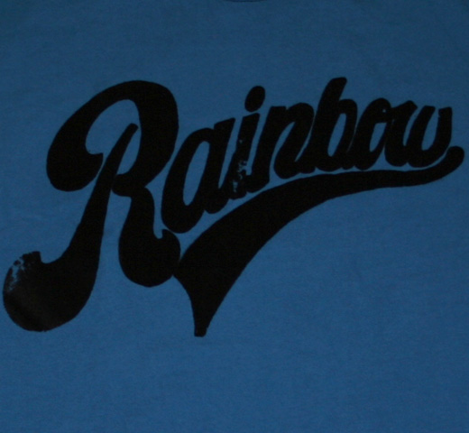 【Worn Free】 Iggy Pop / Rainbow Tee (Mid Blue)