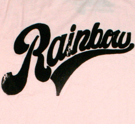 【Worn Free】 Iggy Pop / Rainbow Tee (Pink)
