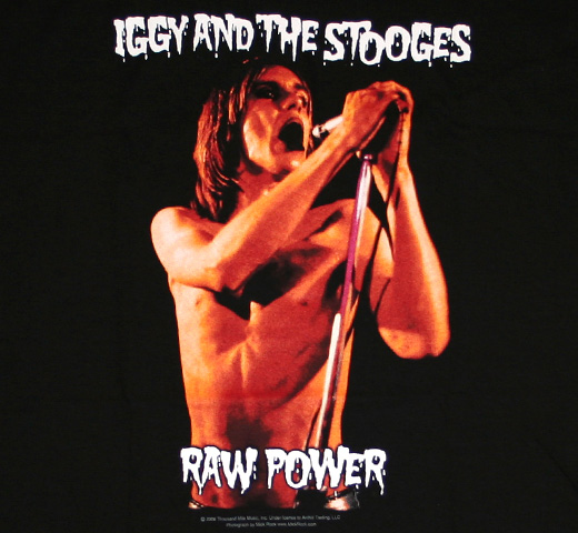 Iggy and The Stooges / Raw Power Tee