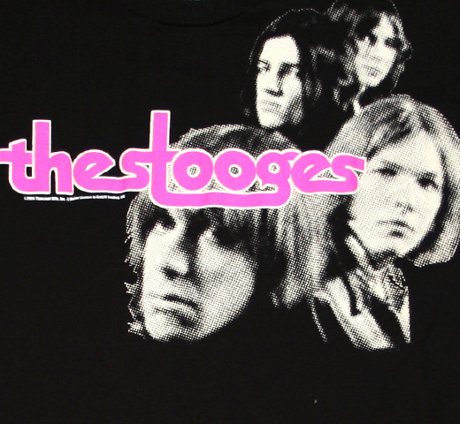Iggy and The Stooges / The Stooges Tee 2 (Black)
