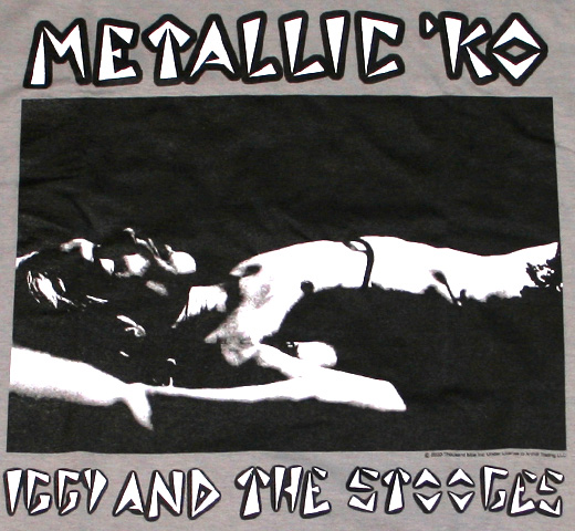 Iggy and The Stooges / Metallic K.O. Tee