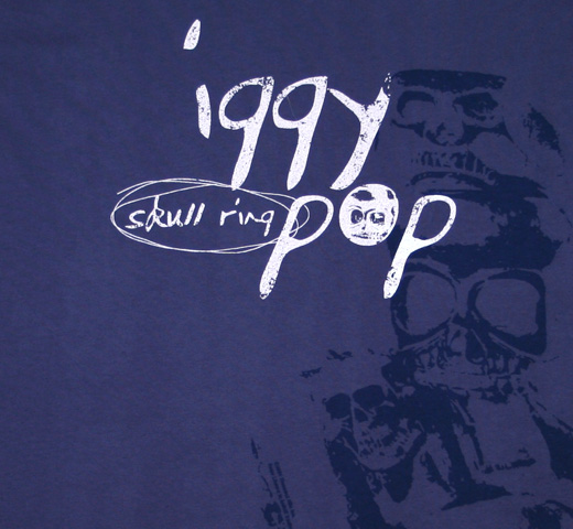 Iggy Pop / Skull Ring Tee
