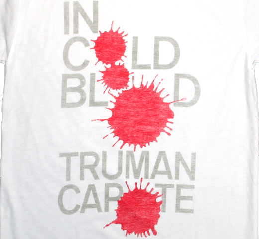 【Out of Print】 Truman Capote / In Cold Blood Tee (White)