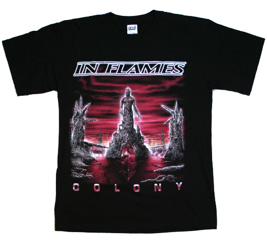 In Flames / Colony Tee (Black)