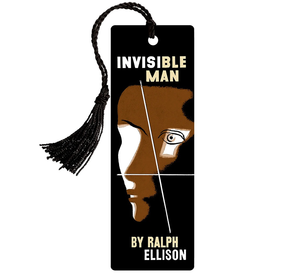 [Out of Print] Ralph Ellison / Invisible Man Bookmark