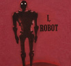 [Out of Print] Isaac Asimov / I, Robot Tee (Red)