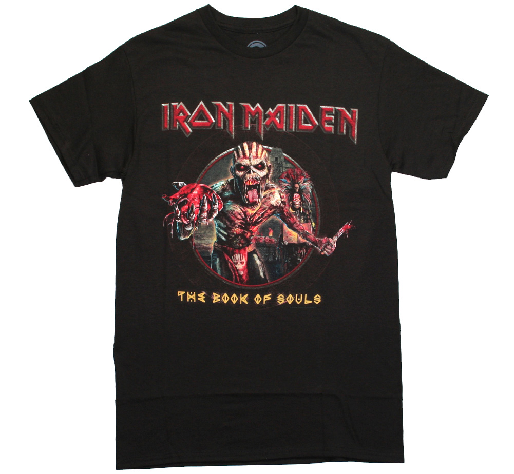 Iron Maiden / The Book of Souls Tee (Vintage Black)