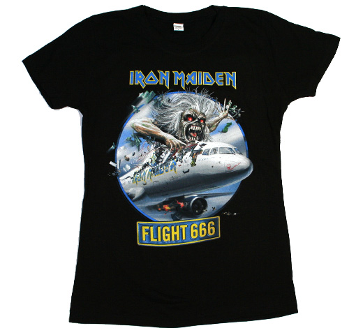Iron Maiden / Flight 666 Tee (Womens)