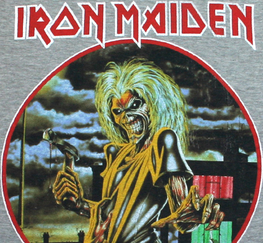 Iron Maiden / Killers Tee (Grey)