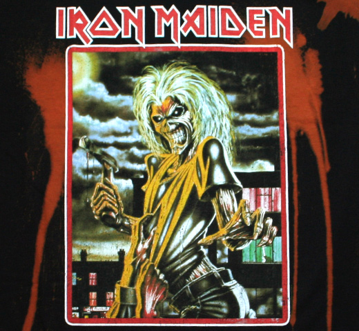 Iron Maiden / Killers Tee (Black / Bleach)