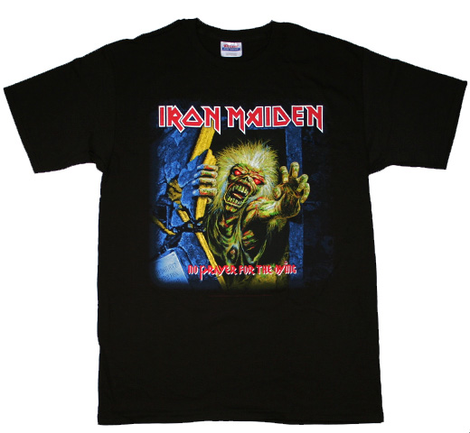 Iron Maiden / No Prayer for the Dying Tee