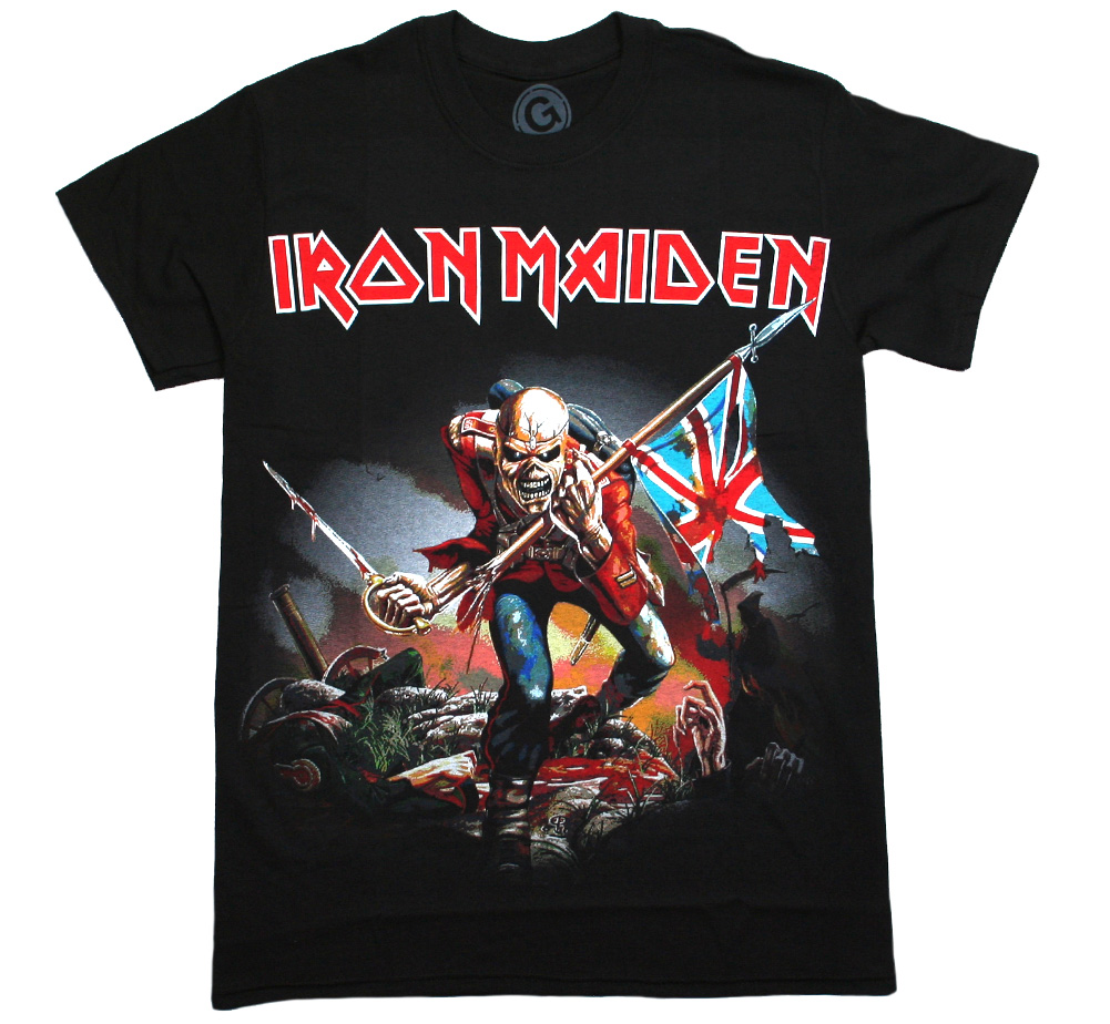 Iron Maiden / The Trooper Tee (Black)