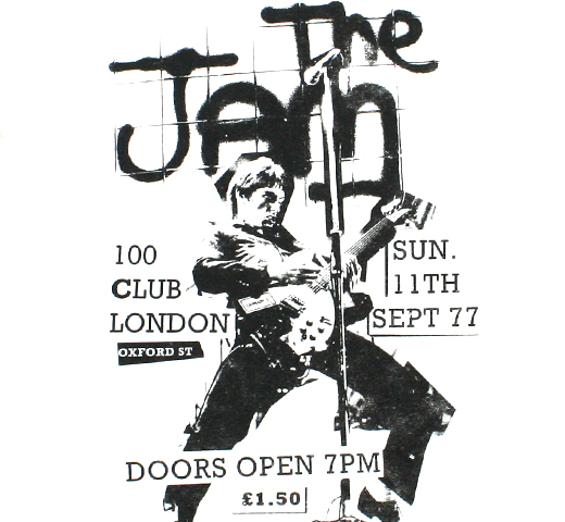 The Jam / 100 Club London Tee (White)