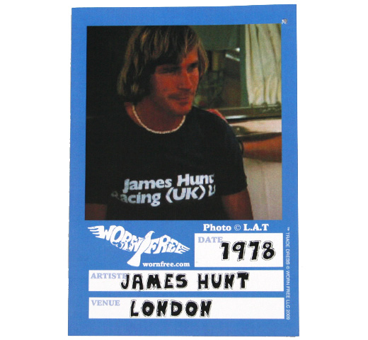 【Worn Free】 James Hunt / James Hunt Racing Tee