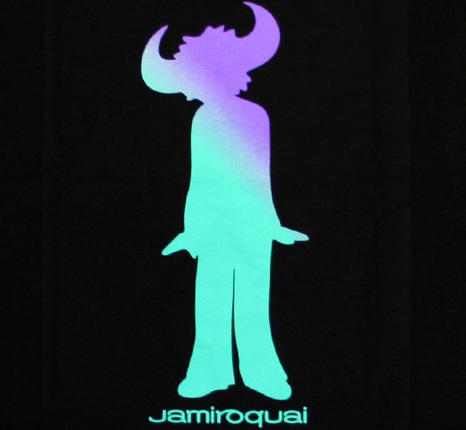 Jamiroquai / Buffalo Man Tee (Black)