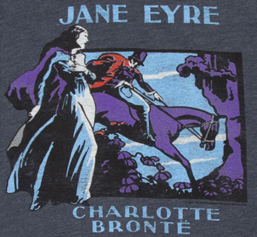 [Out of Print] Charlotte Brontë / Jane Eyre Tee (Vintage Navy)