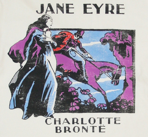 【Out of Print】 Charlotte Brontë / Jane Eyre Tee (Natural)