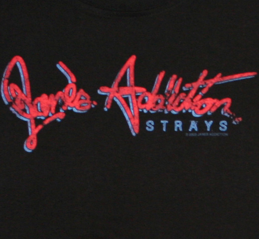 Jane's Addiction / Strays Logo Tee (Womens)