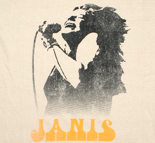 Janis Joplin / Northern California Folk-Rock Festival Tee (Sand)