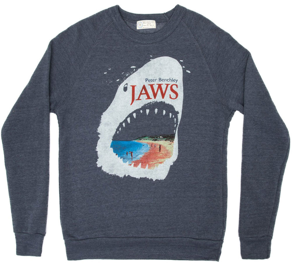 [Out of Print] Peter Benchley / Jaws Sweatshirt (Navy)