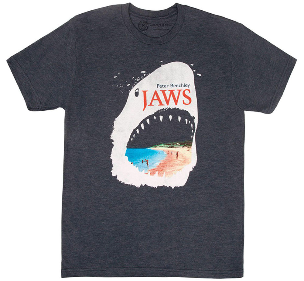 [Out of Print] Peter Benchley / Jaws Tee (Vintage Navy)