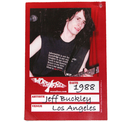 【Worn Free】 Jeff Buckley / Frank Zappa Joe's Garage Tee (Black)