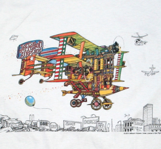 Jefferson Airplane / After Bathing at Baxter's Tee (Vintage White)