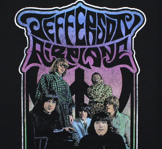 Jefferson Airplane / Band Photo Tee (Black)