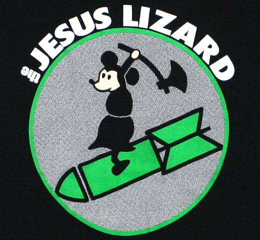 The Jesus Lizard / Mouth Breather Tee (Black)