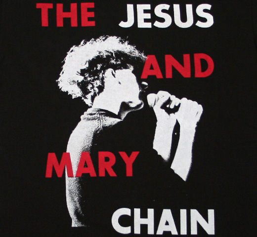 【Worn By】 The Jesus and Mary Chain / Jim Profile Tee (Black)
