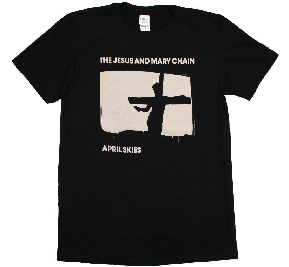 The Jesus and Mary Chain / April Skies Tee 2 (Black)