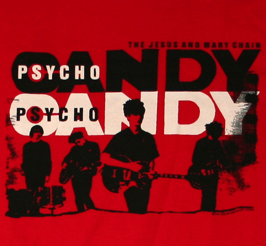 The Jesus And Mary Chain / Psychocandy Tee (Red)
