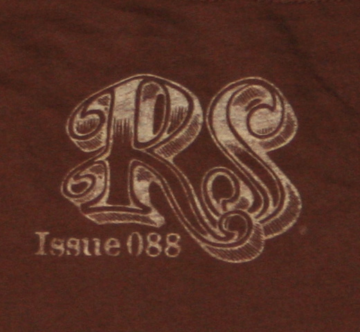 【Rolling Stone】 Jim Morrison / Issue 088 Tee (Vintage Brown)