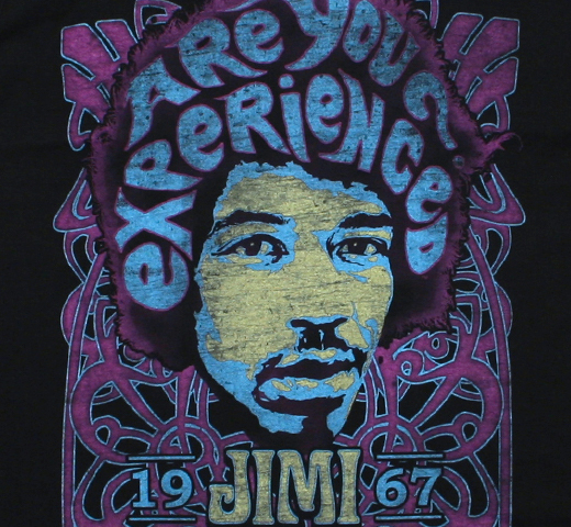 Jimi Hendrix / Are You Experienced? Tee (Black)