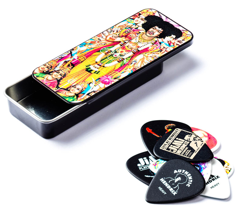 [Jim Dunlop] Jimi Hendrix Pick Tin (Bold As Love) (JH-PT02M)